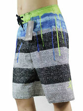 NEW WITH TAGS Mens Striped Beachshorts Swim Trunks Board Shorts SZ30 32 34 36 38