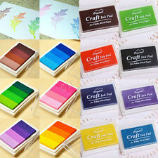 New 1X Sale All-purpose DIY Colorbox Mini Cube Ink Stamp Pad Inkpad Rubber Stamp