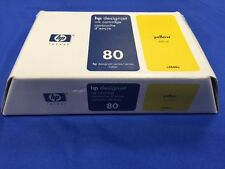 GENUINE HP INK 80 YELLOW IN SEALED RETAIL BOX