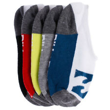 Billabong Boys Invisible 5 Pack Socks