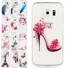 Ultra-Thin Painted Funny Pattern Gel Soft Case Cover For Samsung Galaxy Phones