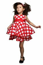 Toddler Kids Baby Girls Dress Sleeveless Princess Party Pageant Dresses 2-7Years