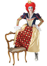The Red Queen of Hearts Fancy Dress Costume