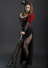 Ladies Burlesque Gothic Victorian Lady Costume