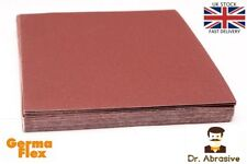 Emery Cloth Sandpaper Abrasive Sheets Sand Paper Aluminium Oxide PACK OF 50