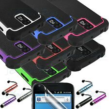 Dual Layer Hybrid Case Cover Samsung Galaxy S2 T989 Hercules T-Mobile + LCD PEN