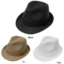 NEW Mens Wedding Dress Formal Fedora Hat H002