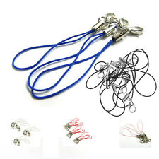 10pcs Cell Phone Cords Strap Lariat Lanyard Lobster Clasp S*