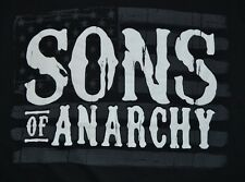 Sons of Anarchy Flag Adult Men's T-Shirt Officially Licensed SOA Merchandise
