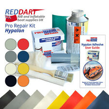 Inflatable Boat Repair Kit, Hypalon Fabric, Hypalon Adhesive, Solvent Cleaner