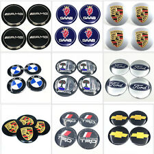 "4pcs 56mm 2.2"" Auto Car Wheel Center Hub Caps Trim Sticker Emblem Badge Sticker"