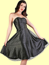 Stop Staring! - Black Sweet Surprise Swing Dress.  New With Several Sizes.