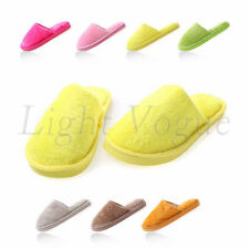 New Women Men Home Anti-slip Shoes Soft Warm Cotton House Indoor Slippers bg