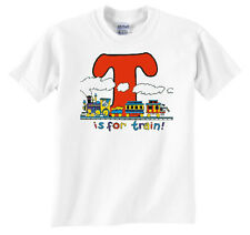 T is for Train Railroad T-Shirt Tee Shirt [156]