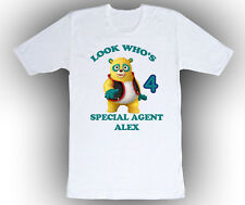 Personalized Special Agent Oso Birthday Shirt