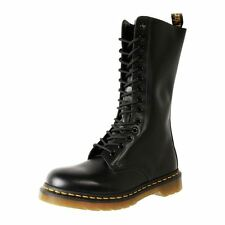 New Genuine Dr. Martens Docs. Unisex Leather 14 Eye Mid Calf Boot Cheap