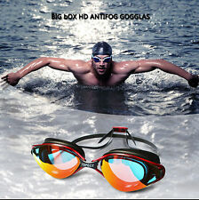Professional Adult Anti-fog Waterproof UV Swimming Goggles Glasses Protection
