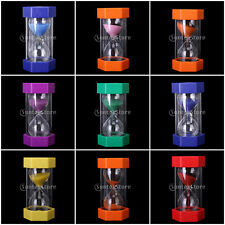 16cm Hourglass Sandglass Sand Timer Timing Sports Cooking Game Home Decor Gift