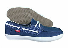 VANS. Surf Siders. Navy Blue. Unisex Casual Boat Shoe. Mens US Size 7.0