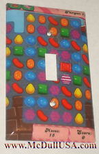 Candy Crush Light Switch Duplex Outlet Cover Plate Home decor