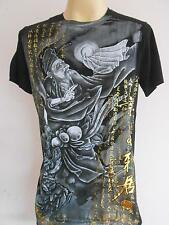 Emperor Eternity Chinese Immortal Tattoo T shirt ฺBlack M L XL