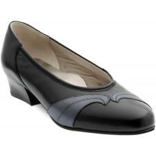 Equity Martha  Wide Fitting EE Soft Leather Court Shoes