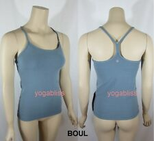 LULULEMON POWER  Y TANK TOP  -  BOUL - SIZE 6 SMALL