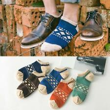 1 Pair Fashion Mens Ankle Socks Low Cut Crew Casual Sport Colored Cotton Socks