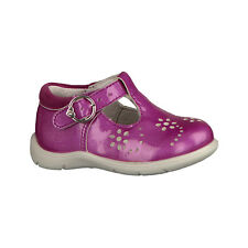 Ricosta Wendy 2129500 Lightweight Soft Leather T Bar Shoe With Buckle Fastening