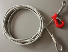 Stopping rope 6-11 mm Loop Forestry Wire Forst zinc plated all lengths m