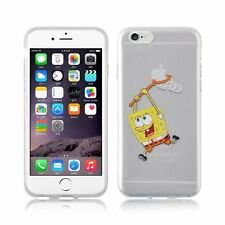 Case/Cover Apple iPhone 5 5s SE 5C 6s 6 7 + Screen Protector Hard Back Spongebob