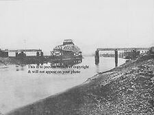 PHOTO OF NEATH RIVER BRIDGE OPEN FOR SHIPPING, RHONDDA & SWANSEA BAY RAILWAY