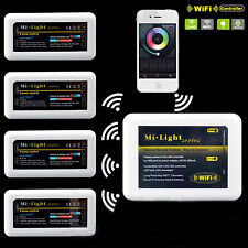 MILIGHT 4 -zone RF Remote LED Controller WIFI FOR 4PIN RGB PHONE 5050 3528 STRIP