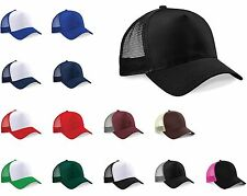 BEECHFIELD SNAPBACK TRUCKER BASEBALL CAP HAT MEN UNISEX MESH ADJUSTABLE FREE P&P
