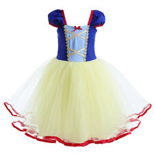 Baby Toddler Girls Snow White Princess Fancy Dress Costume Fairy Tale Party TUTU