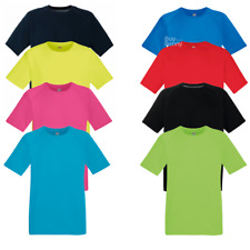Fruit of the Loom MEN'S GYM T-SHIRT SPORTS RUNNING WICKING COOL BREATHABLE S-3XL