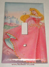 Disney Sleeping Beauty with Castle Light Switch Power Duplex Outlet Cover Plate