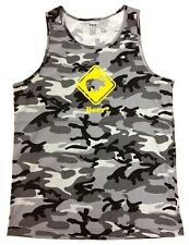 """Men's BEER?"""" Deer Bear Funny Hipster MMA GYM Camouflage Camo Tank Top All Size"""