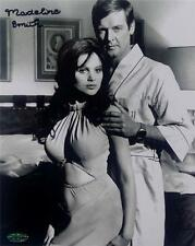 Madeline Smith Signed 8x10 Photo Miss Caruso James Bond Girl OC Dugout Holo OC4