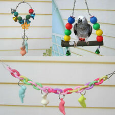 2016 Toys Supplies Birds Parrot Minerals Bars Swing Elevated Ladder Chew Teeth