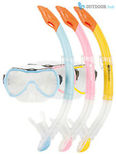 Opsrey Kids SILICONE Mask + Snorkel Set Snorkelling Swim Childrens Diving Junior