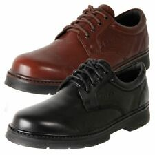 New Slatters Men's Comfort Leather Lace Up Dress Casual Work Shoe Sentor Cheap