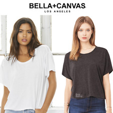 BELLA LADIES FLOWY T-SHIRT RELAXED FIT SHORT SLEEVE ROUND NECK TOP SMART CASUAL