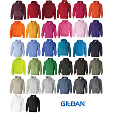 Gildan HOODED SOFT COTTON  SWEATSHIRT HOODIE JUMPER CASUAL S-5XL MEN'S OFFER NEW