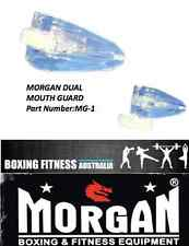 MOUTH GUARD DUAL DOUBLE MORGAN BOXING FITNESS SPORTS MARTIAL ARTS LEAGUE UNION