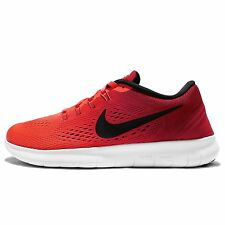 Wmns Nike Free RN Run Red Black Womens Running Shoes Sneakers Runner 831509-801