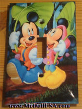 Disney Mickey Minnie Mouse Light Switch & Power Outlet Cover Plate