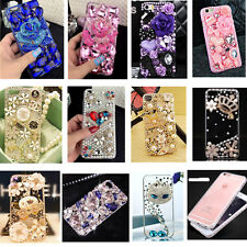 For Apple iPhone 6S 6 Plus Luxury 3D Bling Diamond Crystal Rhinestone Case Cover