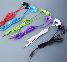 MP3 3.5mm In-Ear Headset Earbud Earphone Headphone For Phone iPod Samsung MP4 US