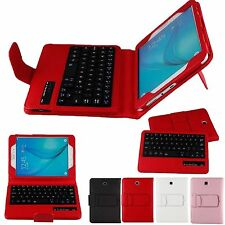 Remove Bluetooth Keyboard Fold Stand Case For Samsung Galaxy Tab A 8.0 T351 T357